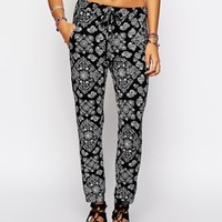 Afends Paisley Trousers Co-ord at asos.com
