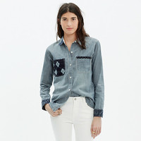Kiriko™ & Madewell Patched Chambray Shirt