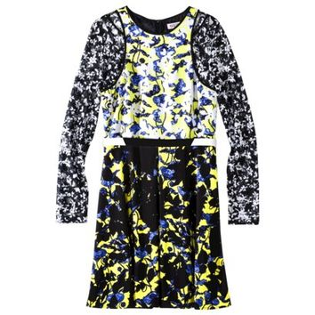 Peter Pilotto® for Target® Belted Dress -Green Floral Print