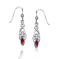 Bling Jewelry Glam Garnet Drops