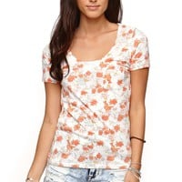 Nollie Short Sleeve Scoop T-Shirt - Womens Tee
