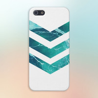Chevron Green Marble Case for iPhone 6 6+ iPhone 5 5S 5C iPhone 4 4S and Samsung Galaxy S5 S4 & S3