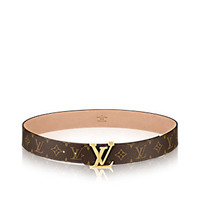 Products by Louis Vuitton: LV Initials Monogram Belt