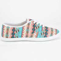 Full Tilt Womens Lace Up Shoes Multi  In Sizes