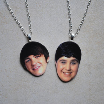 Drake and Josh Friendship Necklaces
