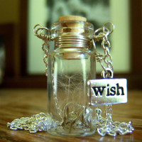 Silver Glass Vial Necklace Glass Bottle Necklace Make a by KarmaBeads
