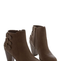 ModCloth Urban All Buckled Up Bootie