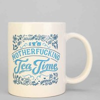 It's Tea Time Mug - Blue Multi One