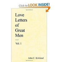 Love Letters of Great Men, Vol. 1