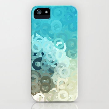 MINT CIRCLES iPhone Case by VIAINA DESIGN   Society6