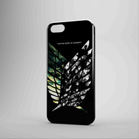 Attack On Titan Wing Of Freedoms iPhone Case Samsung Galaxy Case NDR 3D