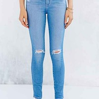 Nobody Denim Cult Skinny-Fit Jean - Glimmer- Vintage Denim Light