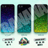 Glitter, Mint Sparkle, iPhone 5 case, iPhone 5S case, iPhone 5c case, Phone case, iPhone 4 Case, iPhone 4S Case, Phone Skin, Printed, GRC01