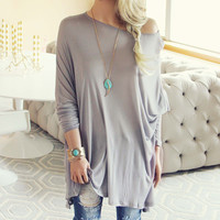 Feather Knit Tee