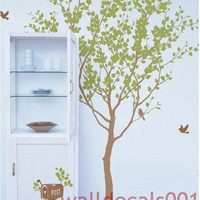 Vinyl wall decal wall sticker tree decal by walldecals001 on Etsy