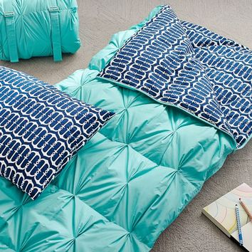 Cape Cod Sleeping Bag + Pillowcase, Anchor