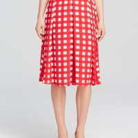AQUA Skirt - Charlie's Check Pleated