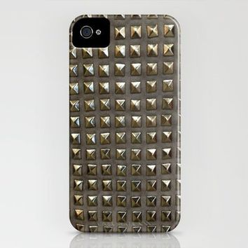 Studs iPhone Case by haleyivers | Society6