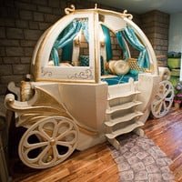 Gilded Fantasy Bedroom Coach