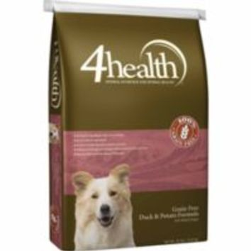 4health Grain Free Duck & Potato Dog Food, 30 lb.