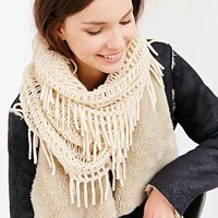 Drapey Mix Net Eternity Scarf-