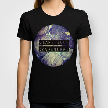Start Your Adventure. T-shirt by Josrick | Society6