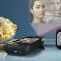 Pocket Projector for iPhone 4 Devices