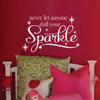 Teen Girl Wall Decal - Bedroom Vinyl Wall Decal - Bathroom Vinyl Wall Art Decal - Vinyl Lettering