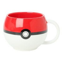 Pokemon Poke Ball Figural Mug