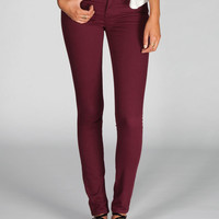 Rsq Miami Womens Jeggings Burgundy  In Sizes