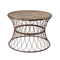 Wire Weave Coffee Table