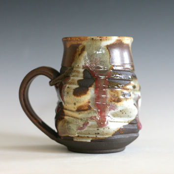 pottery Coffee Mug ceramic cup tea cup coffee cup handthrown stoneware pottery mug unique coffee mug ceramics and pottery