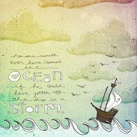 Sailing the storm by vol25 on Etsy