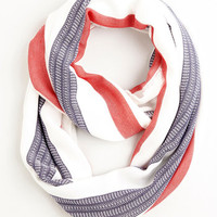 ModCloth Nautical Smiles All Around Circle Scarf