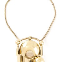 KTZ abstract pendant necklace