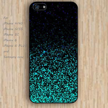iPhone 6 case dream glitter colorful blues iphone case,ipod case,samsung galaxy case available plastic rubber case waterproof B182