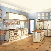 Kitchen with island GUICCIARDINI PALACE by Officine Gullo
