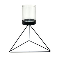 Pyramid Wire Candle Holder - Medium