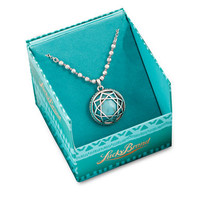 Lucky Brand Silver Tone Turquoise Stone Pendant Necklace
