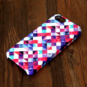 Abstract Mosaic Geometric Print iPhone 6 Case/Plus/5S/5C/5/4S Case 298