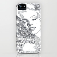 Marilyn Monroe II iPhone & iPod Case by S. L. Hurd