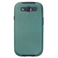 Bold Teal Green Galaxy S3 Cases