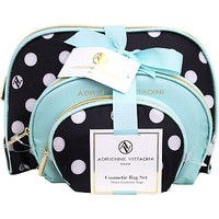 Online Only Dome Shaped with Bow - Blue/Polka Dot 3 Pc Set