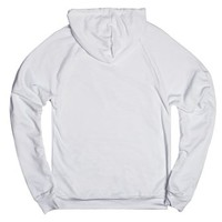 Too Cold For Angels-Unisex White Hoodie