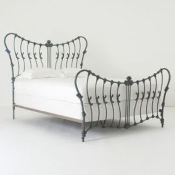 Cosette Bed by Anthropologie Blue