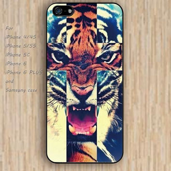 iPhone 5s 6 case cross case tiger case dream catcher colorful phone case iphone case,ipod case,samsung galaxy case available plastic rubber case waterproof B599