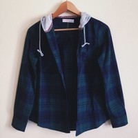 Rowan Hooded Flannel