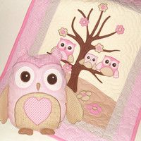 Owl Personalized Owl Pillow