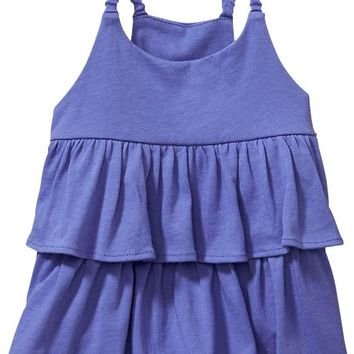Double-Ruffle Tanks for Baby