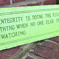 Lime Green Inspirational Quote by AquaXpressions
